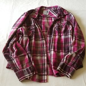 Northface flannel shirt